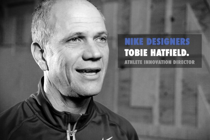 Nike Designers part 3: Tobie Hatfield
