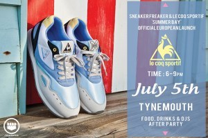 SneakerFreaker x Le Coq Sportif 'Summer Bay' UK launch