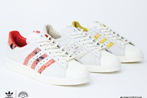 "adidas Consortium Superstar '80s ""Back In The Day"" pack"
