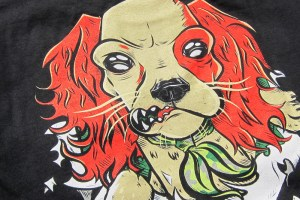 AnyForty 'Monni Bones' T-shirt and Hard Cases