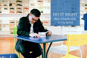Do It Right: An interview with Mark Chamberlain of Le Coq Sportif