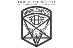 HUF x Thrasher Stoops Euro Tour 2013