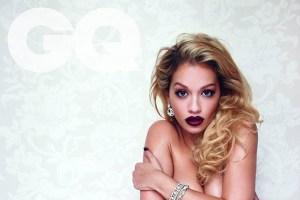 Rita Ora covers August 2013 issue of British GQ