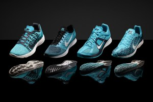 "Nike ""Gamma Blue"" Marathon Pack (Lunaracer 3, Flyknit Racer, Zoom Streak 4 & LT)"
