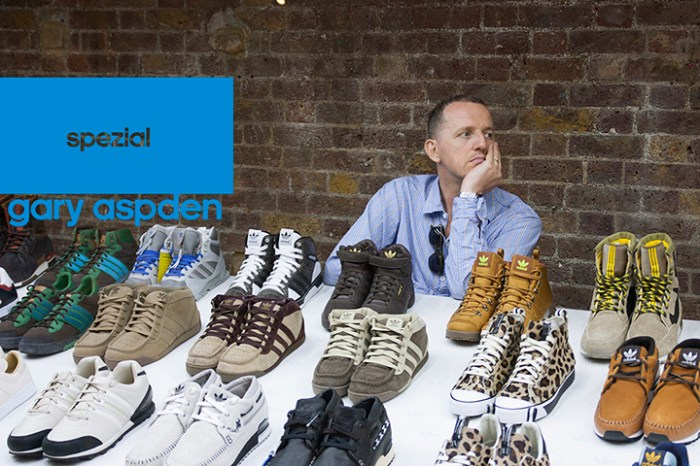 Gary Aspden talks about adidas and his recent Spezial exhibition