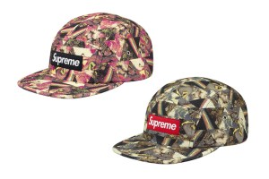 Supreme x Liberty London x Storm Thorgerson Camp Caps