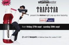 vitaminwater & Trapstar #shinebright Pop-Up Store