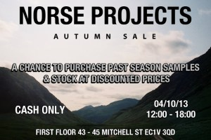 Norse Projects Autumn Sale Event