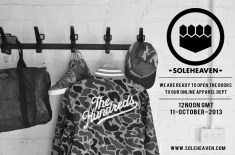 SoleHeaven Launch Apparel Dept
