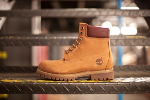Timberland 40th Anniversary 'Ruby Collar' Yellow boot