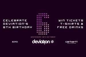 Competition: Win Deviation 6th birthday tickets & t-shirts