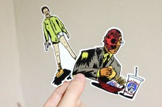Breaking Bad sticker pack by Josh Parkin