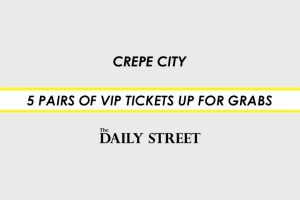 Competition: 5 pairs of VIP Tickets to Crepe City 9