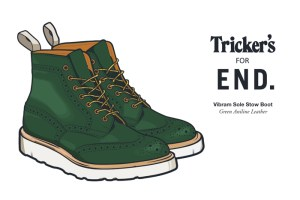 END. x Tricker's Vibram Sole Stow Boot – A Guide to Construction
