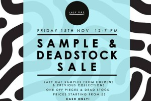 Lazy Oaf Sample & Deadstock Sale