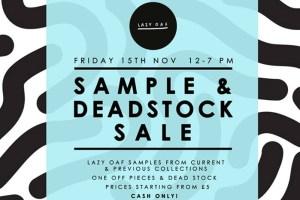 Lazy Oaf Sample & Deadstock Sale