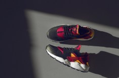 Nike Huarache LE 'Black/Fuchsia/Laser Orange' (size? Exclusive)