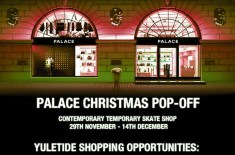 Palace Christmas Pop-off Shop