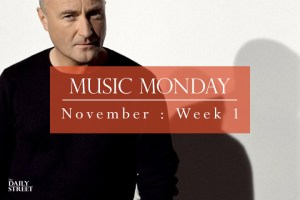 Music Monday: November Week 1