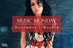 Music Monday: November Week 4