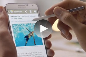 The Daily Street features in new Samsung Mobile video
