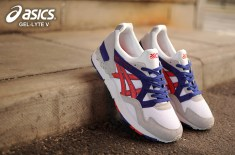 asics Gel Lyte V OG (White/Fiery Red)