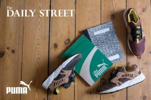 "Competition: Win the PUMA Running Book and a pair of MMQ Leather Disc Cage ""Cork"""