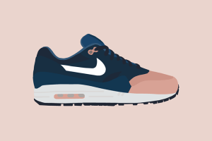 Debut: Ronnie Fieg x Nike Air Max 1 illustrations by The Lime Bath