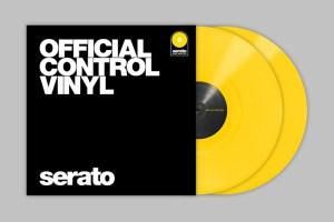 Serato release yellow Official Control Vinyl