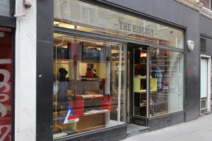 London Store The Hideout to Close