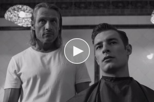 Video: EVISU presents 'The Barber'