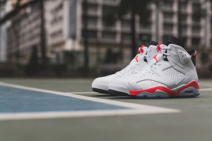 Air Jordan 6 Retro 2014 'Infrared' (White)