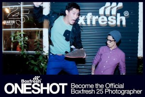 Boxfresh One Shot Photography Competiton