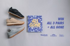 Competition: WIN the Reebok Classic Leather 'Embossed Camo' Pack & All Gone Book