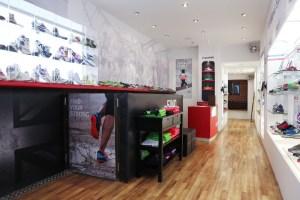 Inside the Saucony Originals 'Story of Running' store