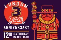 Johnny Cupcakes London celebrates 3 years