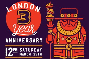 Johnny Cupcakes London celebrates 3 years