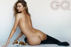 Miranda Kerr by Mario Testino for British GQ