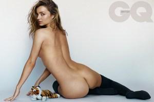 Miranda Kerr by Mario Testino for British GQ