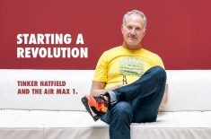 Starting a revolution: Tinker Hatfield and the Air Max 1
