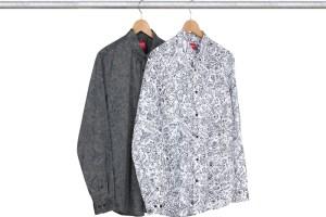 Supreme x Liberty Spring/Summer '14 shirts