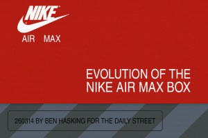 The evolution of the Nike Air Max box (1987–2014)