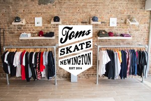 Toms Skate Shop opens in Stoke Newington