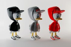 Huey, Dewey and Louie in Supreme, Nike, Givenchy and MORT by Simeon Georgiev