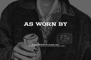 Goodhood presents 'As Worn By' illustrated lookbook by Clara Lacy
