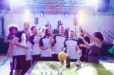 The Daily Street wins Losers Cup at Hyponik Disco Dodgeball