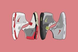 Debut: Nike Air Yeezy II OG Air Max colourways by The Lime Bath