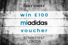 Competition: WIN £100 mi adidas voucher + Streetfest VIP tickets