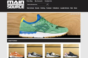 Main Source launch new website and deadstock store