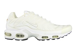 Nike Air Max Plus (White/White/Grey)